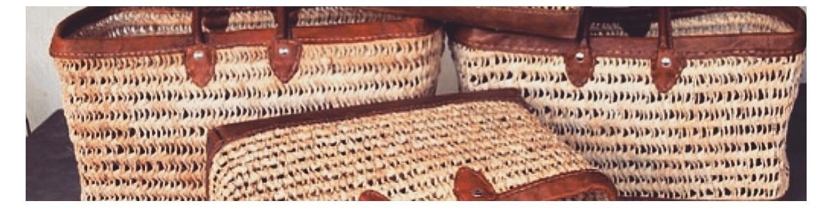 Bag & basket | Nomad'Deco, handmade decorative object